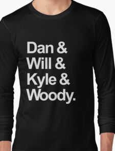 Bastille names Long Sleeve T-Shirt