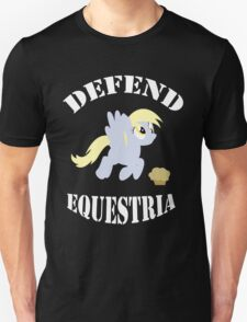 Defend Equestria - Derpy Hooves Unisex T-Shirt
