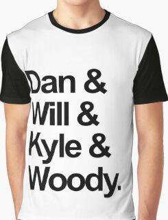 Bastille names Graphic T-Shirt