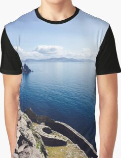 Island Out At Sea Graphic T-Shirt