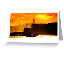 Bosphorus Greeting Card