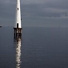 Port Melbourne, Lighthouse. by David Toolan