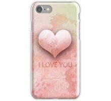 PINK DIVINE HEART iPhone Case/Skin