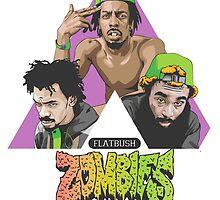 flatbush zombies by axelcrunch