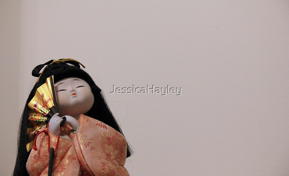 Painted Geisha Girl by JessicaHayley