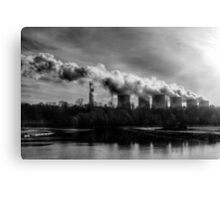 Polluters Canvas Print