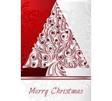 Merry Christmas Photographic Print