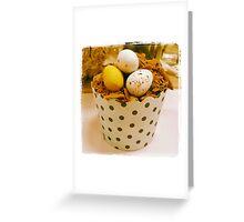Chocolate Flake Egg Muffin Greeting Card