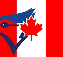 Toronto Blue Jays Flag Logo by Jacob Sorokin