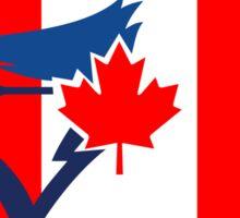Toronto Blue Jays Flag Logo Sticker