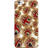 Union Jack in bubbles iPhone Case/Skin