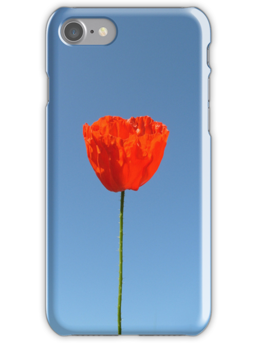 Poppy in the Sky - iPHONE/iPOD Case by KUJO-Photo