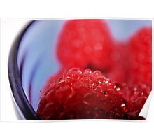 Raspberry Delight Poster