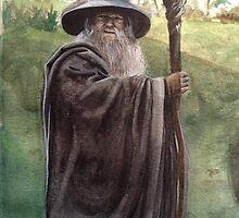 Gandalf the Grey by Nym-Jo