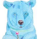 Bear Blue by RagAragno