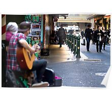 Mates Busking - Melbourne, Australia Poster