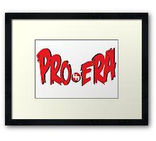 pro era Framed Print