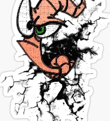Earthworm Jim Sticker
