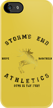 BARATHEON ATHLETICS - DISTRESSED by amanoxford