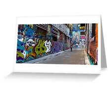 In Another World - Melbourne, Australia Greeting Card