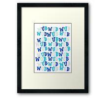Wub A Lot more! Framed Print