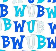 Wub A Lot more! Sticker