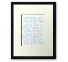 One last wub! Framed Print