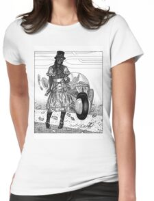 Dystopia 03 Womens Fitted T-Shirt