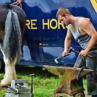 Making Horseshoes ~ Buckham Fair by Susie Peek