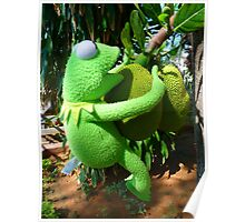 Jack Fruit Green Large Frog Kermit Poster
