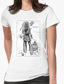 Dystopia 06 Womens Fitted T-Shirt