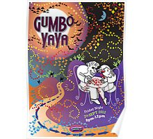 GUMBO YA-YA - brashy, bluesy and cool Poster