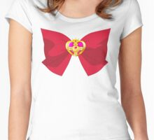 SAILOR MOON CRYSTAL COSMIC BOW Women's Fitted Scoop T-Shirt