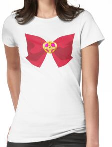 SAILOR MOON CRYSTAL COSMIC BOW Womens Fitted T-Shirt