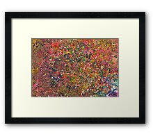 Abstract - Crayon - A Genuine Fiasco Framed Print