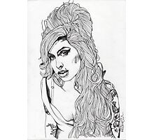 AMY WINEHOUSE Photographic Print