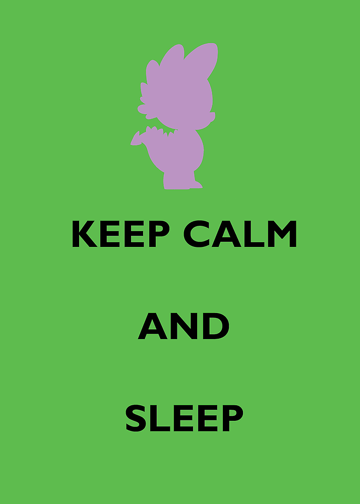 Keep Calm Spike by Sailor-Selene