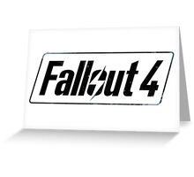 Fallout 4 Greeting Card