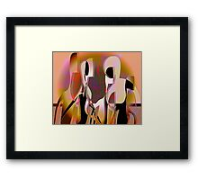 Lasting Attachments Framed Print