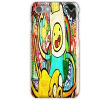 Adventure Time brush  iPhone Case/Skin