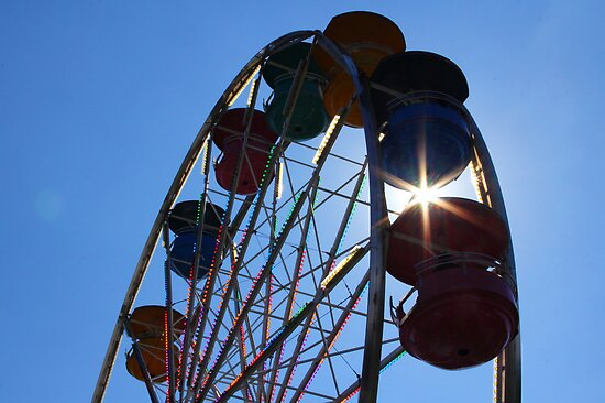 Ferris Wheel Magic by Tracy Friesen