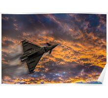 Typhoon Eurofighter Poster