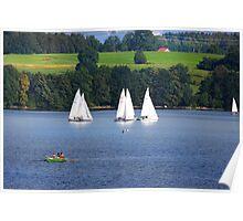 Summer Sails Poster