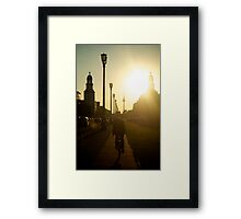 Sunset, Friedrichshain Framed Print