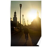 Sunset, Friedrichshain Poster