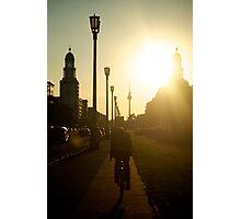 Sunset, Friedrichshain Photographic Print