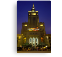 Center of Culture, Warsaw 2003 Canvas Print