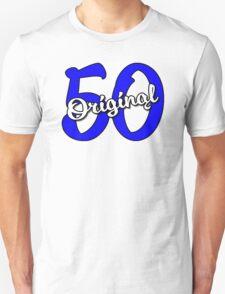 Original 50 - Blue/White T-Shirt