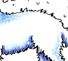 Great Pyrenees :: Totally Hairifying Sticker