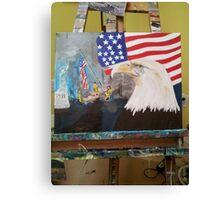 911 trilogy Canvas Print